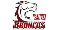 Hastings College Broncos Mascot.
