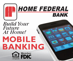Home Federal Bank advertisement